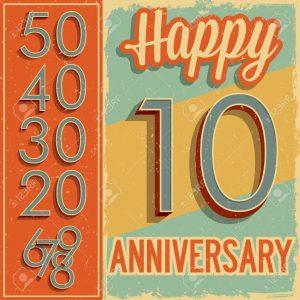 19378231-N-meros-de-estilo-vintage-tarjeta-de-aniversario-Foto-de-archivo