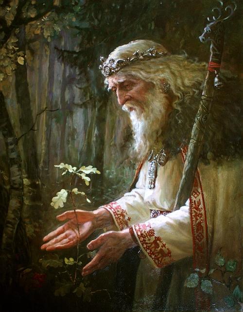 Svyatibor-Slavic-God-of-Forests-and-woods
